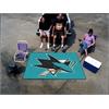 FANMATS NHL - San Jose Sharks Tailgater Rug 5'x6'