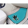 "FANMATS NHL - San Jose Sharks 2-pc Printed Carpet Car Mats 17""x27"""