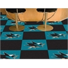 FANMATS NHL - San Jose Sharks Team Carpet Tiles