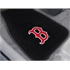 "FANMATS MLB - Boston Red Sox 2-piece Embroidered Car Mats 18""x27"""