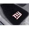 "FANMATS NFL - New York Giants 2-piece Embroidered Car Mats 18""x27"""