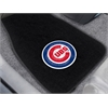 "FANMATS MLB - Chicago Cubs 2-piece Embroidered Car Mats 18""x27"""