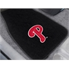 "FANMATS MLB - Philadelphia Phillies 2-piece Embroidered Car Mats 18""x27"""