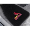 "FANMATS MLB - St. Louis Cardinals 2-piece Embroidered Car Mats 18""x27"""