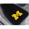 "FANMATS Michigan 2-piece Embroidered Car Mats 18""x27"""