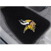 "FANMATS NFL - Minnesota Vikings 2-piece Embroidered Car Mats 18""x27"""