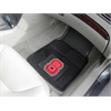 FANMATS NC State 2-pc Vinyl Car Mat Set