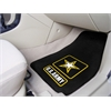 "FANMATS Army 2-piece Carpeted Car Mats 17""x27"""