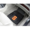 FANMATS Syracuse 2-pc Vinyl Car Mat Set
