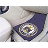 "FANMATS USCG Academy2-pc Printed Carpet Car Mats 17""x27"""