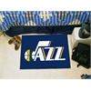 """FANMATS NBA - Utah Jazz Starter Rug 19"""" x 30"""""""