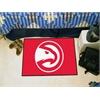 "FANMATS NBA - Atlanta Hawks Starter Rug 19"" x 30"""