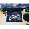 "FANMATS NBA - Cleveland Cavaliers Starter Rug 19"" x 30"""
