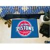 "FANMATS NBA - Detroit Pistons Starter Rug 19"" x 30"""
