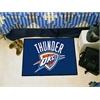 "FANMATS NBA - Oklahoma City Thunder Starter Rug 19"" x 30"""