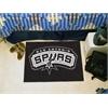 "FANMATS NBA - San Antonio Spurs Starter Rug 19"" x 30"""