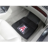 "FANMATS Arizona State Heavy Duty 2-Piece Vinyl Car Mats 17""x27"""