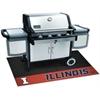 """FANMATS Illinois Grill Mat 26""""x42"""""""