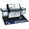 """FANMATS NFL - Seattle Seahawks Grill Mat 26""""x42"""""""