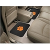 "FANMATS Clemson Backseat Utility Mats 2 Pack 14""x17"""