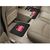"FANMATS Nebraska Backseat Utility Mats 2 Pack 14""x17"""