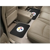 "FANMATS NFL - Pittsburgh Steelers Backseat Utility Mats 2 Pack 14""x17"""