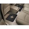 "FANMATS NFL - New Orleans Saints Backseat Utility Mats 2 Pack 14""x17"""