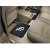"FANMATS MLB - Tampa Bay Rays Backseat Utility Mats 2 Pack 14""x17"""