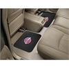 "FANMATS NBA - Detroit Pistons Backseat Utility Mats 2 Pack 14""x17"""