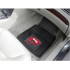 FANMATS Western Kentucky Heavy Duty 2-Piece Vinyl Car Mats 17x27