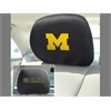"FANMATS Michigan Head Rest Cover 10""x13"""