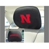 "FANMATS Nebraska Head Rest Cover 10""x13"""