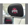 "FANMATS Ohio State Head Rest Cover 10""x13"""