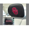 "FANMATS Oklahoma Head Rest Cover 10""x13"""