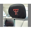 "FANMATS Texas Tech Head Rest Cover 10""x13"""