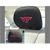 "FANMATS Virginia Tech Head Rest Cover 10""x13"""