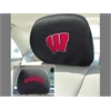 "FANMATS Wisconsin Head Rest Cover 10""x13"""
