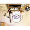 "FANMATS Mount Union Baseball Mat 27"" diameter"