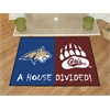 "FANMATS Montana - Montana State House Divided Rugs 34""x45"""