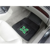 FANMATS Marshall 2-pc Vinyl Car Mat Set
