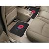"""FANMATS Dayton Backseat Utility Mats 2 Pack 14""""x17"""""""