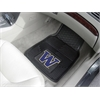 FANMATS Washington 2-pc Vinyl Car Mat Set