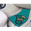 "FANMATS Coastal Carolina 2-piece Carpeted Car Mats 17""x27"""