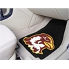 "FANMATS Quincy 2-piece Carpeted Car Mats 17""x27"""