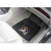 "FANMATS East Carolina Heavy Duty 2-Piece Vinyl Car Mats 17""x27"""