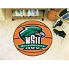 "FANMATS Northeastern State Basketball Mat 27"" diameter"
