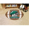 "FANMATS Northeastern State Football Rug 20.5""x32.5"""