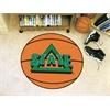 """FANMATS Delta State Basketball Mat 27"""" diameter"""