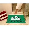 "FANMATS Delta State All-Star Mat 33.75""x42.5"""