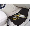 "FANMATS Montana State - Billings 2-piece Carpeted Car Mats 17""x27"""